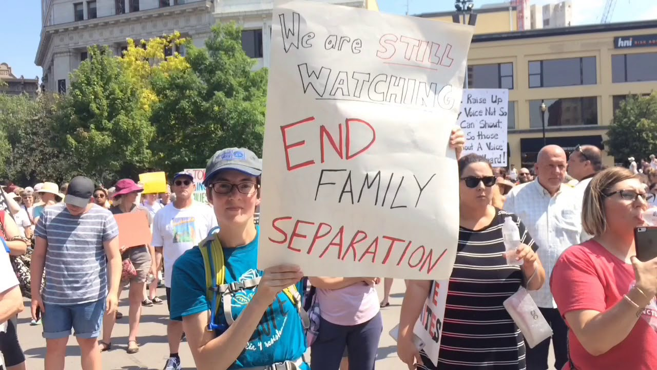 Hundreds Attend Families Belong Together Protest In Rosa