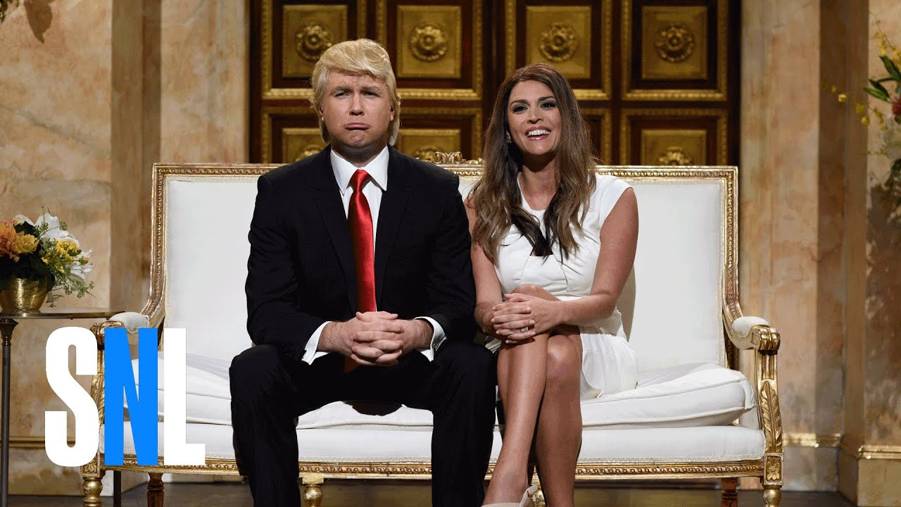Donald and Melania Trump Cold Open - SNL - YouTube