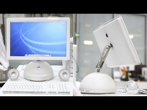 Самый красивый iMac из 2002г. - спустя 17 лет  | iMac G4 или Лампа Джобса