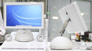 Самый красивый iMac из 2002  | iMac G4 или Лампа Джобса