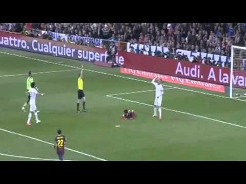 Sergio Ramos Red Card Foul on Neymar ~ Real Madrid vs FC Barcelona (EL CLASICO) HD