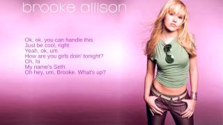 Watch Brooke Allison Seth video