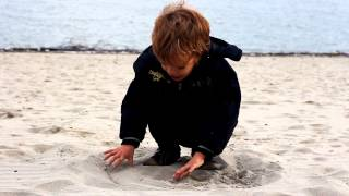 Child playing outside - Free HD stock footage