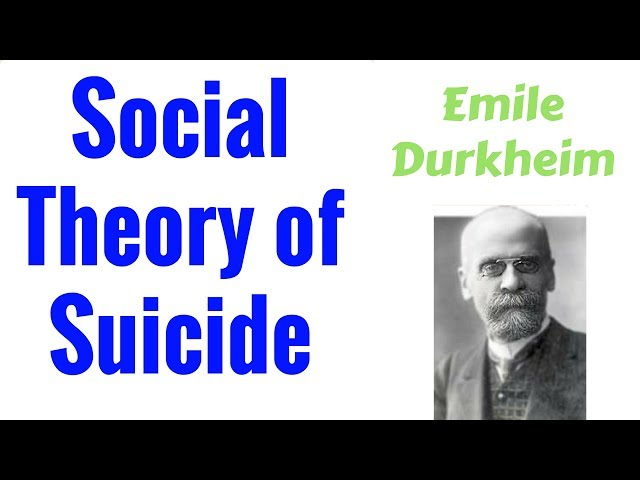 Emile Durkheim Social Theory of Suicide in Hindi | Sociology