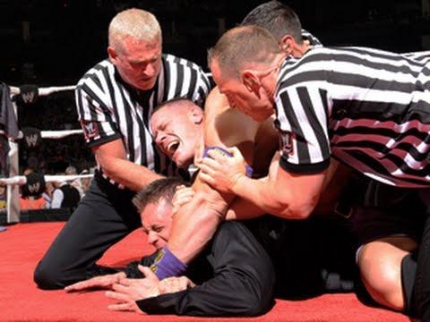 Raw: Cena crashes The Miz's attempt to rewrite