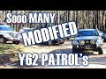 EVERY Y62 Patrol with EVERY Modification - Cobaw Annual Y62 Meetup Part 1