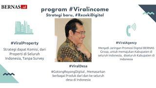 Program Viral, Pak Putu Putrayasa, Ceo Bernas Group dengan Potensi Pasif Income s/d 38 jt/bulan.