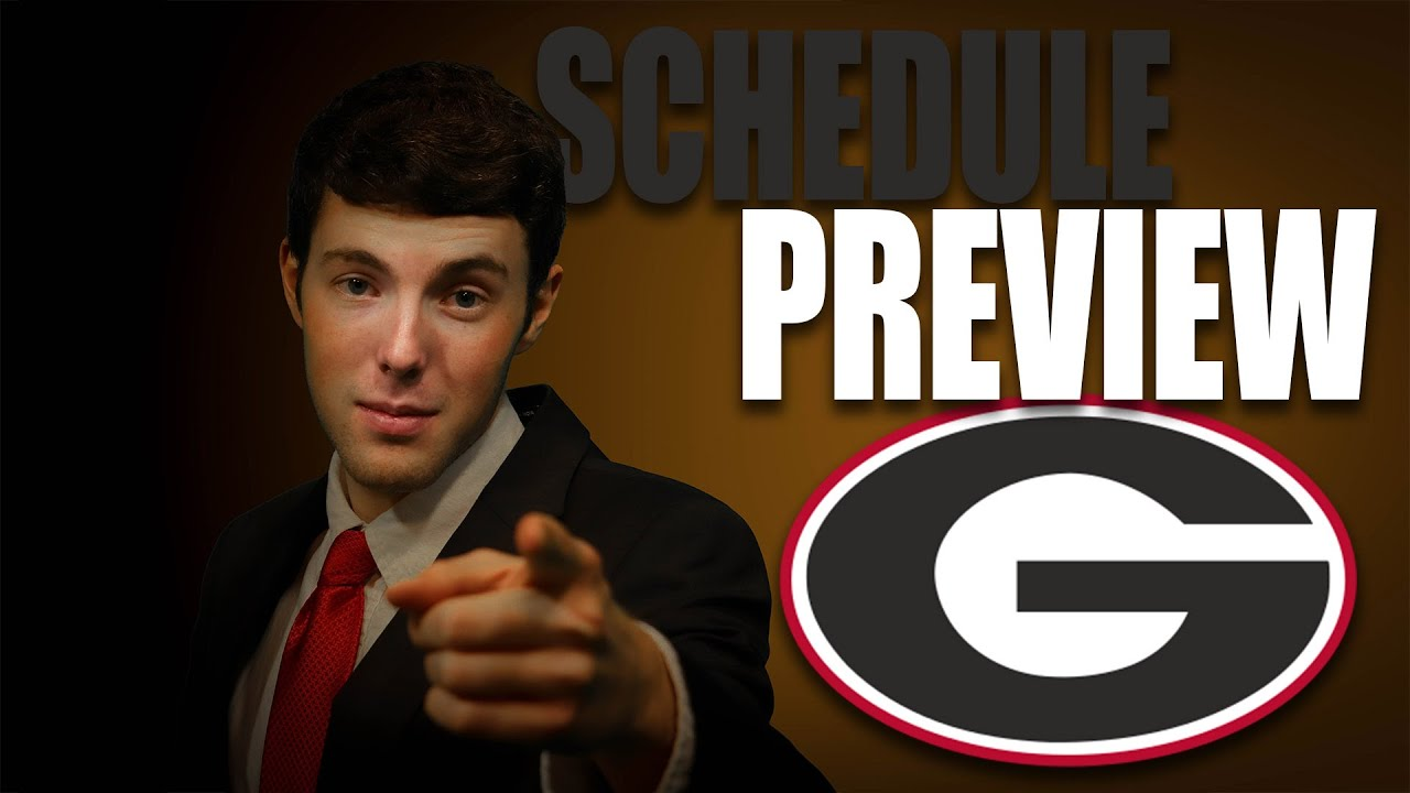 Georgia 2020 College Football Schedule Preview