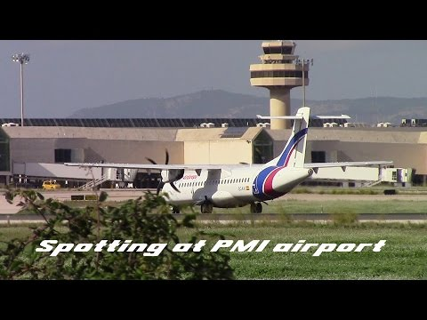 Planespotting at PMI 1 [FULL HD]