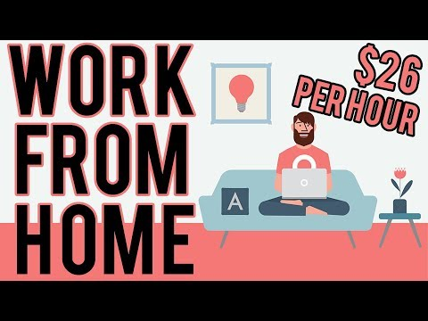 Work From Home | $26 Per Hour Working Online (Anywhere In The World)