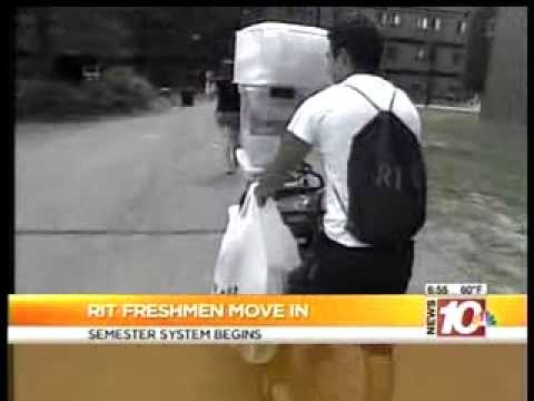 RIT on TV: RIT Move-in 10NBC Today