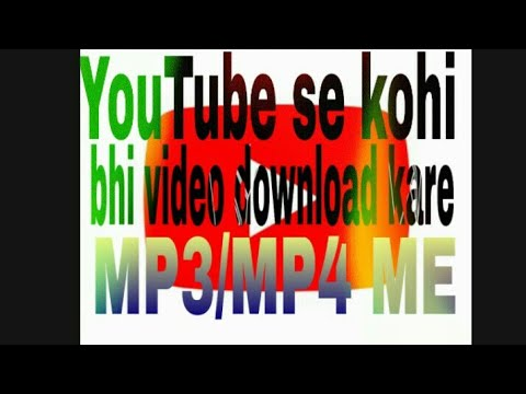 How To Download Youtube Video// Mp3 //mp4