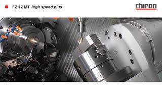 Токарно-фрезерный обрабатывающий центр CHIRON FZ12 MT!