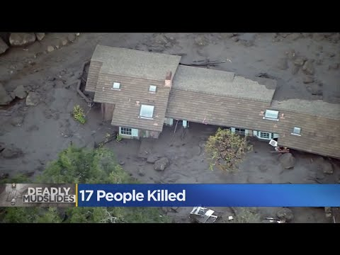 Death Toll From Montecito Mudslide Rises to 17