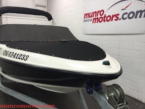 2007 MAXUM MARINE MX 1800 With Bow Cover and Bimini Top SOLD Munro Motors