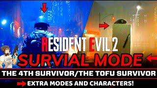Resident Evil 2 - REMAKE - New Modes and Characters -SURVIVAL MODE - !SCARED #RE2Remake