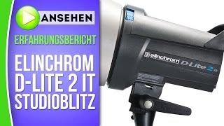 Elinchrom D-Lite 2 it Studioblitz - caphotos.de