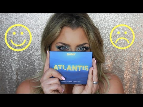 FACECANDY ATLANTIS PALETTE | REVIEW AND TUTORIAL | HOT MESS MOMMA MD