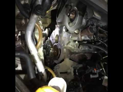 Renault Scenic II Timing Belt Replace - YouTube