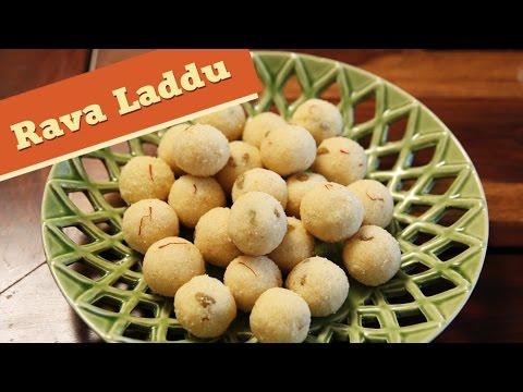 Rava Laddu | Traditional Indian Dessert Recipe | Diwali Special | Divine Taste With Anushruti