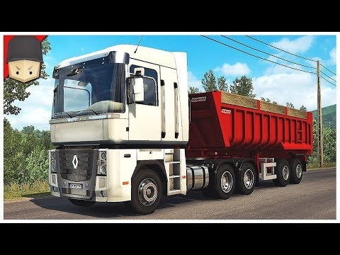 Euro Truck Simulator 2 - BARCELONA!