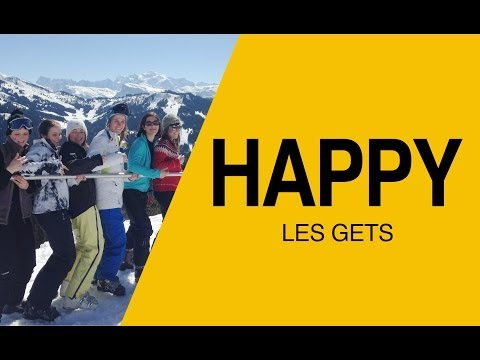 Happy from Les Gets -- Pharrell Williams (snow edit)