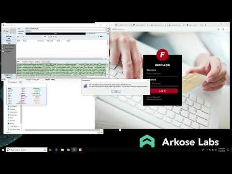 Arkose Labs' Award Winning Demo