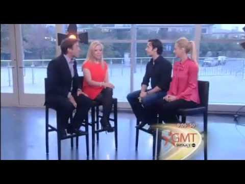 Good Morning Texas - TV interview with Riverdance dancers Padraic Moyles and Niamh O'Connor