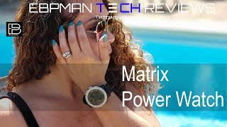 Matrix Power Watch Review | Never Charge Your Watch Again | Get 20% off Now!