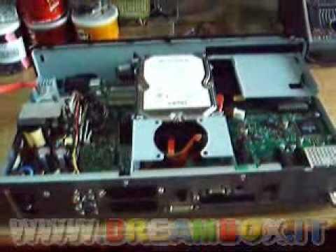 Parte2 ... Dreambox DM8000 ... Spacchettamento + Montaggio HD E DVD