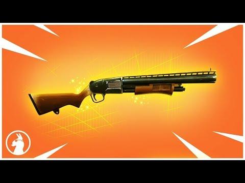 LEGENDARY PUMP SHOTGUN IN FORTNITE?
