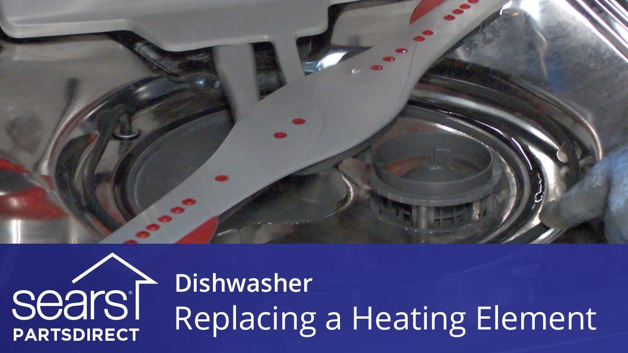 Replacing The Heating Element On A Dishwasher Youtube Smart 451 Fuse Box Diagram