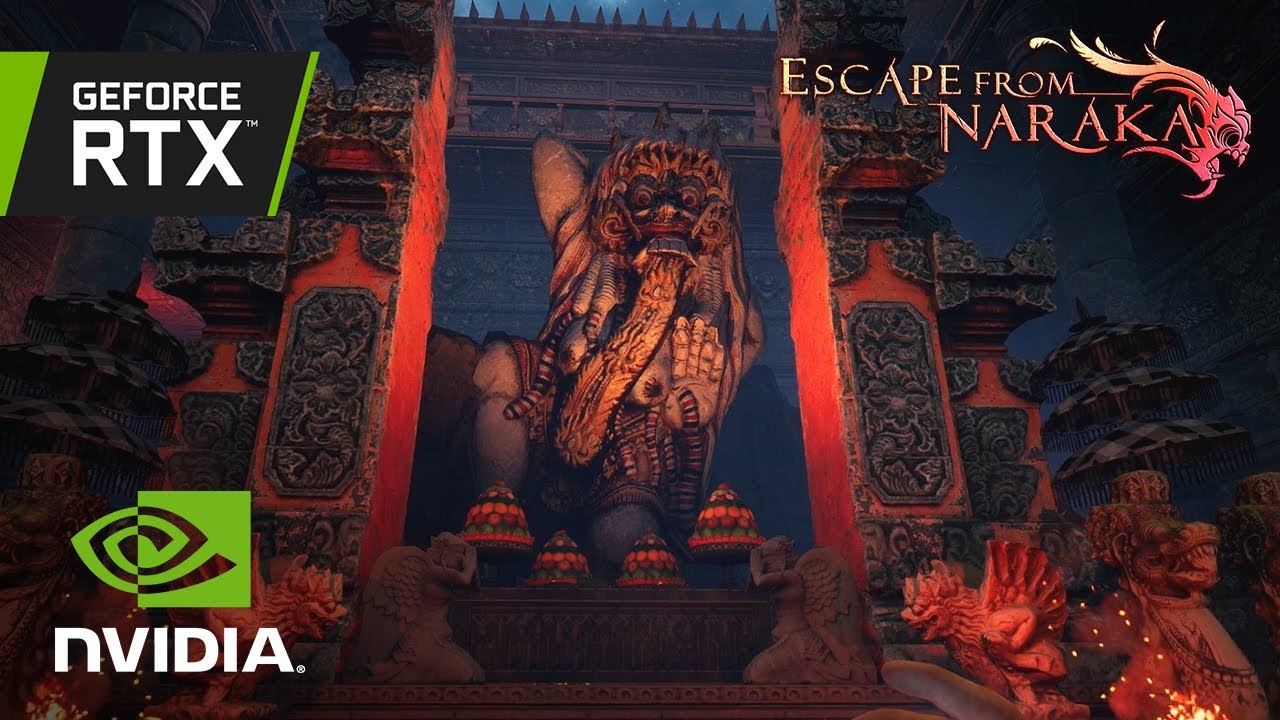 Escape from Naraka   Official RTX Reveal Trailer