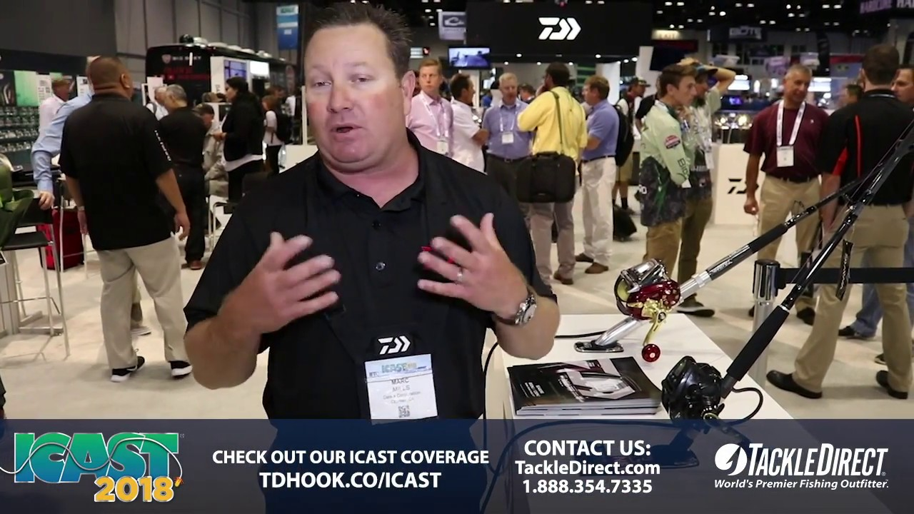 e5c2472f278 Daiwa Tanacom 500 at ICAST 2018. TackleDirect
