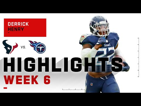 Derrick Henry Is a RAID BOSS w/ 264 Total Yds & 2 TDs | NFL 2020 Highlights