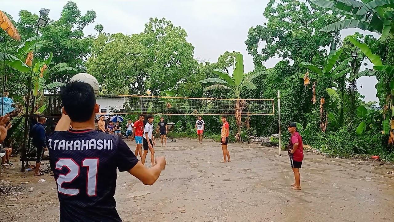 Download Volleyball set1 | rumble match | Lahad Datu vs kk | court kobusak