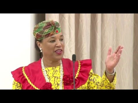 Welcome Ceremony for Baroness Patricia Scotland