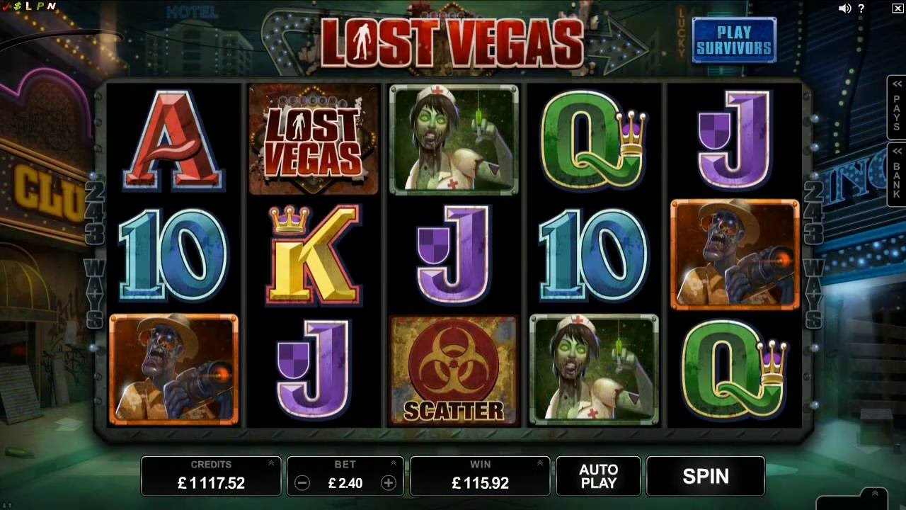 Lost Vegas Slot - Microgaming Promo - YouTube
