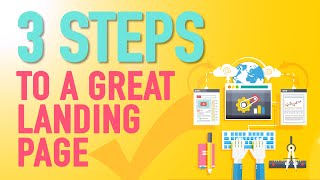 How To Make A Landing Page With WordPress - 3 litte steps(Learn how to make a landing page! This landing page example is the perfect way to start getting qualified prospects!, 2015-05-07T20:00:35.000Z)