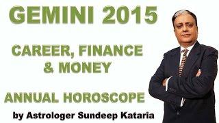 Gemini Annual Horoscope 2015 Astrology Career, Fiance and Money