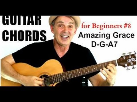 beginning guitar 101 lesson 8b amazing grace real guitar lessons by tomas michaud. Black Bedroom Furniture Sets. Home Design Ideas