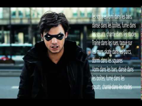 Orelsan dans ma ville on tra ne lyrics youtube for Dans ma ville on traine