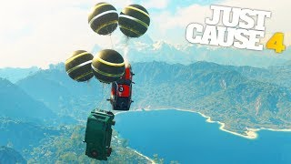 Just Cause 4   SECRET FLY NG CAR AB L TY