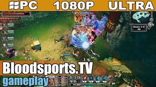 Bloodsports.TV  gameplay HD [PC - 1080p] -  Hero Defense game