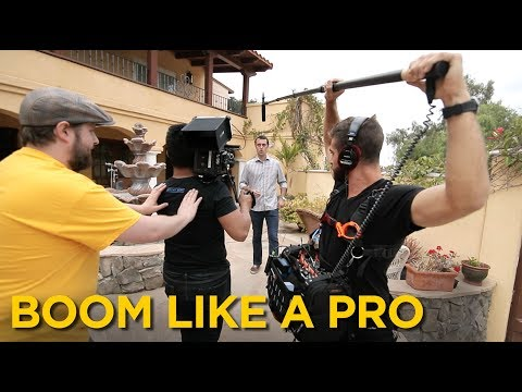 How To Be A Boom Operator