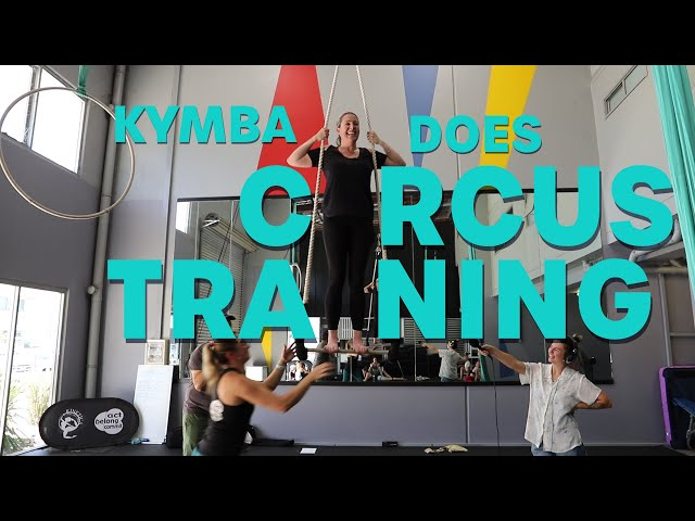 Kymba Does Circus Training - And Goes Alright! | Pete, Matt and Kymba | Mix94.5
