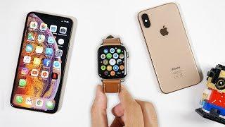 Apple Watch Series 4 et iPhone XS : le Couple Parfait