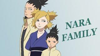 Nara Family (Shikamaru, Temari and Shikadai) – Speed Drawing and Painting