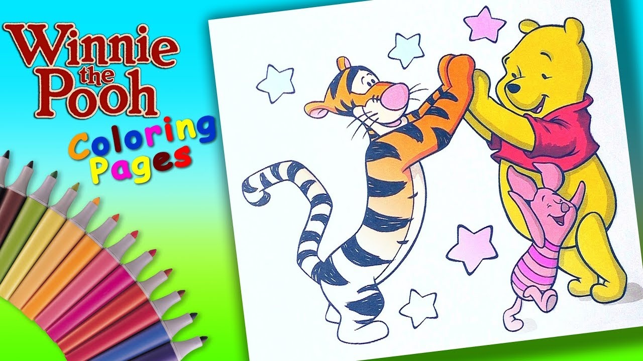 Baby Tigger Coloring Pages - GetColoringPages.com | 720x1280