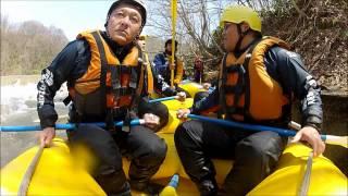 北海道ライオンアドベンチャー 2012年春 尻別川ラフティング